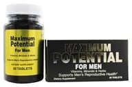 Good 'N Natural - Maximum Potential For Men - 30 Tablets - $6.65