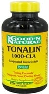 Good 'N Natural - Tonalin 1000-CLA - 120 Softgels - $18.10