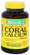 Good 'N Natural - Triple Strength Coral Calcium 1500 mg. - 60 Capsules