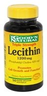 Good 'N Natural - Triple Strength Lecithin Phosphatidyl Choline 420 mg. - 50 Softgels
