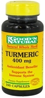 Good 'N Natural - Turmeric Curcumin 400 mg. - 100 Capsules, from category: Herbs
