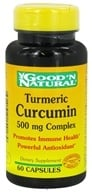 Good 'N Natural - Turmeric Curcumin 500 mg. - 60 Capsules (698138154179)