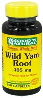 Image of Good 'N Natural - Wild Yam Root 405 mg. - 100 Capsules