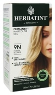 Herbatint - Herbal Haircolor Permanent Gel 9N Honey Blonde - 4.5 oz. (666248001089)