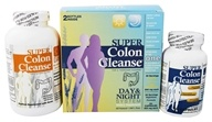 Health Plus - Super Colon Cleanse Day & Night System 500 mg. - 270 Capsules Formerly Kit (083502087731)