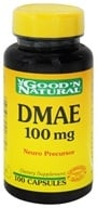 Good 'N Natural - DMAE 100 mg. - 100 Capsules - $5.30
