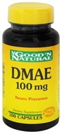Good 'N Natural - DMAE 100 mg. - 100 Capsules by Good 'N Natural