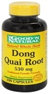Good 'N Natural - Dong Quai 530 mg. - 100 Capsules - $3.91