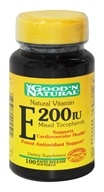 Good 'N Natural - Vitamin E 200 IU - 100 Softgels, from category: Vitamins & Minerals