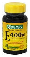 Good 'N Natural - Vitamin E 400 IU - 100 Softgels by Good 'N Natural