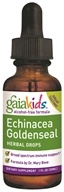Gaia Herbs - Echinacea Goldenseal For Children Alcohol Free - 1 oz.