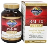 Garden of Life - RM-10 Ultra Ultimate Immune Health Formula - 90 Vegetarian Capsules, from category: Nutritional Supplements
