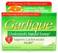 Garlique - Garlique Tabs - 30 Tablets - $8.49