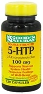 Good 'N Natural - 5-HTP L-5-Hydroxytryptophan 100 mg. - 120 Capsules, from category: Nutritional Supplements