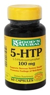Image of Good 'N Natural - 5-HTP L-5-Hydroxytryptophan 100 mg. - 60 Capsules