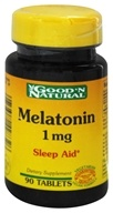 Good 'N Natural - Melatonin 1 mg. - 90 Tablets - $2.34