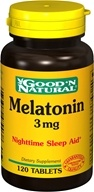 Good 'N Natural - Melatonin 3 mg. - 120 Tablets (074312479038)