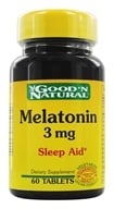Image of Good 'N Natural - Melatonin 3 mg. - 60 Tablets