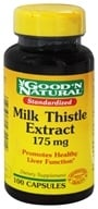 Good 'N Natural - Milk Thistle 175 mg. - 100 Capsules by Good 'N Natural