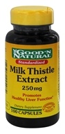 Good 'N Natural - Milk Thistle 250 mg. - 100 Capsules, from category: Herbs