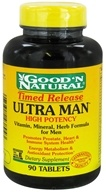 Good 'N Natural - Ultra Man Timed Released High Potency - 90 Tablets - $7.92