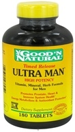 Good 'N Natural - Ultra Man Time Release - 180 Tablets