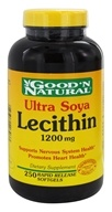 Good 'N Natural - Ultra Soya Lecithin 1200 mg. - 250 Softgels Formerly 19 grain (074312403033)