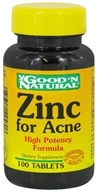 Good 'N Natural - Zinc For Acne - 100 Tablets - $2.61