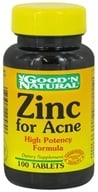 Good 'N Natural - Zinc For Acne - 100 Tablets by Good 'N Natural