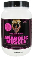 Healthy N' Fit - Anabolic Muscle Protein Strawberry Shake - 3.5 lbs. by Healthy N' Fit