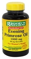 Good 'N Natural - Evening Primrose Oil 1000 mg. - 60 Softgels - $4.42