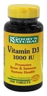 Good 'N Natural - Vitamin D3 1000 IU - 100 Tablets