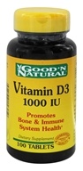 Good 'N Natural - Vitamin D3 1000 IU - 100 Tablets, from category: Vitamins & Minerals