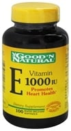 Good 'N Natural - Vitamin E 1000 IU - 100 Softgels Formerly Pure dl-Alpha by Good 'N Natural