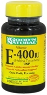 Image of Good 'N Natural - Vitamin E dl-Alpha Tocopheryl 400 IU - 100 Softgels