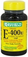 Good 'N Natural - Vitamin E dl-Alpha Tocopheryl 400 IU - 100 Softgels, from category: Vitamins & Minerals