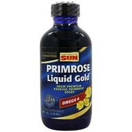 Image of Health From The Sun - Omega-6 Evening Primrose Liquid Gold - 4 oz.
