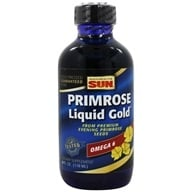 Health From The Sun - Omega-6 Evening Primrose Liquid Gold - 4 oz., from category: Nutritional Supplements