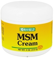 Good 'N Natural - MSM Cream - 4 oz.