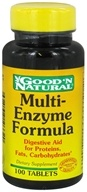 Image of Good 'N Natural - Multi-Enzyme Formula - 100 Tablets