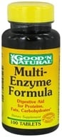 Good 'N Natural - Multi-Enzyme Formula - 100 Tablets - $5.34