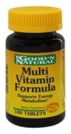 Good 'N Natural - Multi-Vitamin Formula Vitamins Minerals Amino Acids - 100 Tablets - $3.36