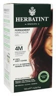 Herbal Haircolor Permanent Gel 4M Mahogany Chestnut - 4.5 fl. oz. by Herbatint