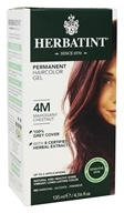 Herbatint - Herbal Haircolor Permanent Gel 4M Mahogany Chestnut - 4.5 oz.