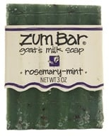 Indigo Wild - Zum Bar Goat's Milk Soap Rosemary Mint - 3 oz. by Indigo Wild