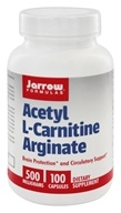 Jarrow Formulas - Acetyl L-Carnitine Arginate 500 mg. - 100 Capsules (790011020097)