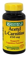 Good 'N Natural - Acetyl L-Carnitine 250 mg. - 90 Capsules by Good 'N Natural