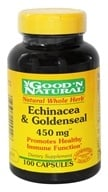 Good 'N Natural - Echinacea & Goldenseal 450 mg. - 100 Capsules Formerly Plus by Good 'N Natural