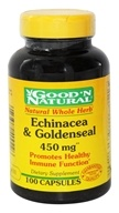 Good 'N Natural - Echinacea & Goldenseal 450 mg. - 100 Capsules Formerly Plus (074312409226)
