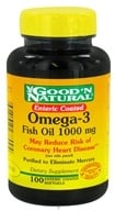 Image of Good 'N Natural - Enteric Coated Omega-3 Fish Oil 1000 mg. - 100 Softgels